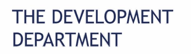 Partner The Development Department in talent development